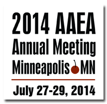 2014 AAEA Annual Meeting