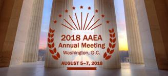 2018 AAEA Annual Meeting